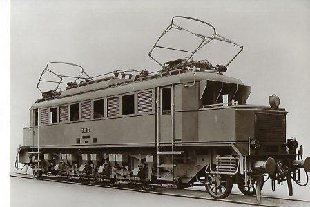 E 16 101 Schnellzug-Lokomotive DR, Borsig 1928 (1021)