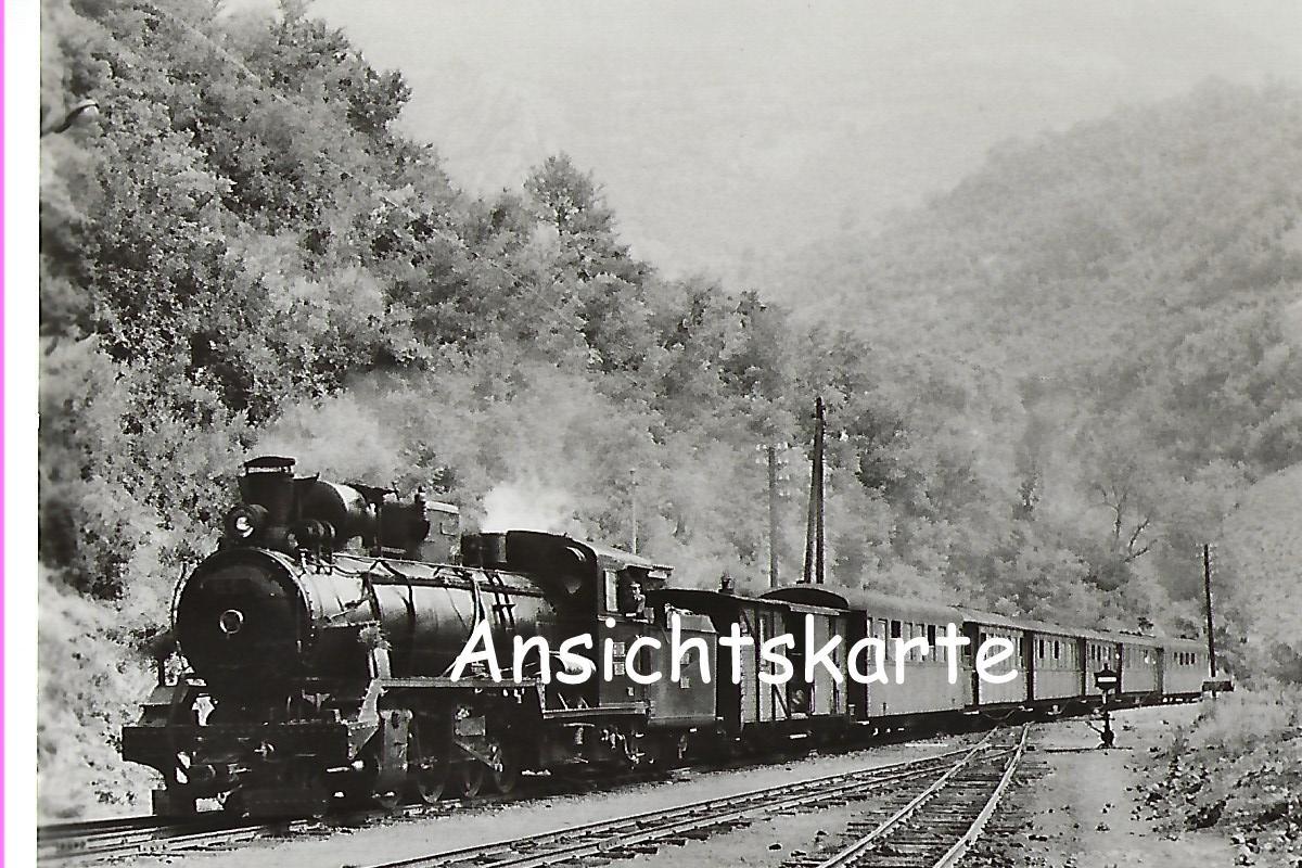 ŽS Jugoslawische Eisenbahnen. Schmalspur-Lokomotive 85 – 039 (1072)