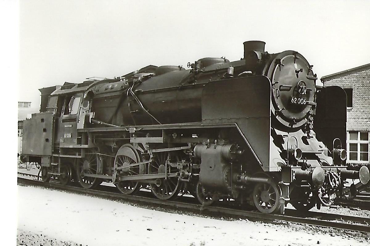 DRG Baureihe 62 006 Personenzug-Tenderlokomotive, Henschel 1929. Eisenbahn Bestell-Nr. 1084