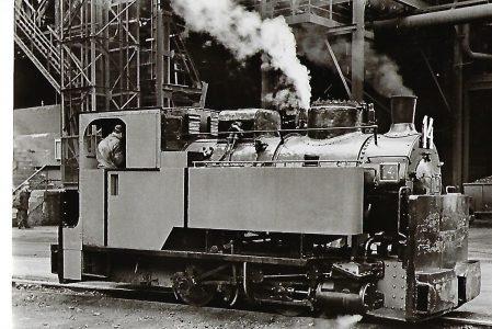Schmalspur-Dampflokomotive Nr. 14 der Röchling'sche Eisen- und Stahlwerke, Krauss 1907. Eisenbahn Bestell-Nr. 1086