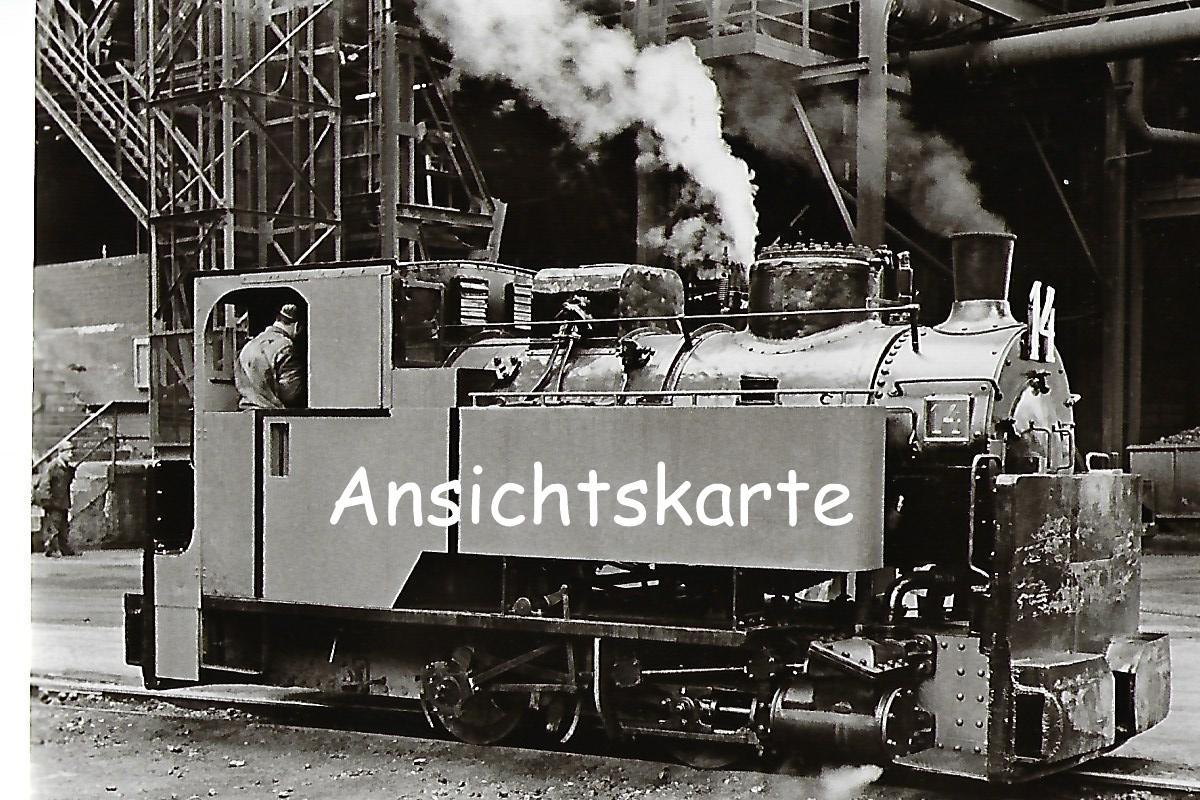 Schmalspur-Dampflokomotive Nr. 14 der Röchling'sche Eisen- und Stahlwerke, Krauss 1907 (1086)