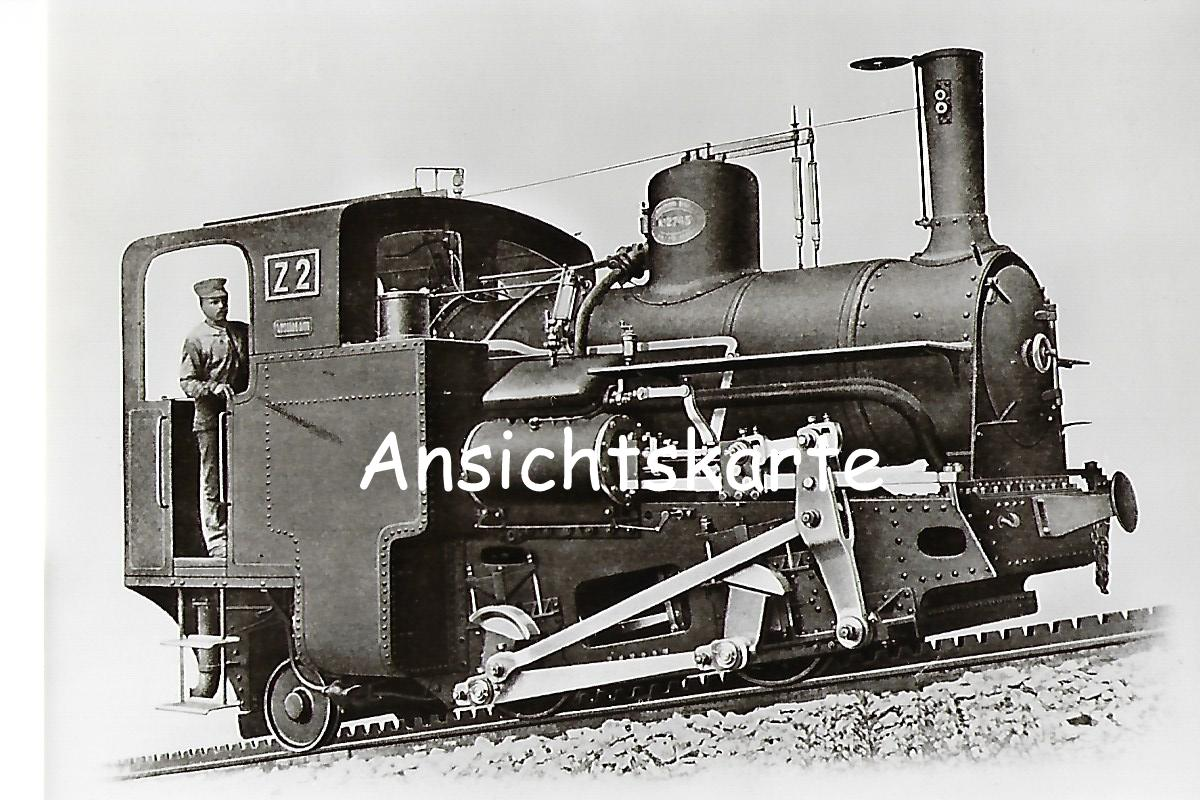 Schneebergbahn. Zahnradlokomotive Z 2, Krauss & Co Linz 1897 (1091)