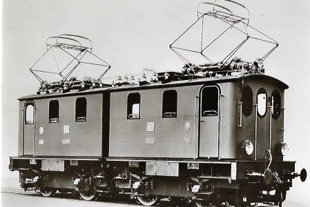 Preussische Staatseisenbahnen, Hafenbahn Altona, Bergmann-Elektrizitäts-Werke 1913. Eisenbahn Bestell-Nr. 1110