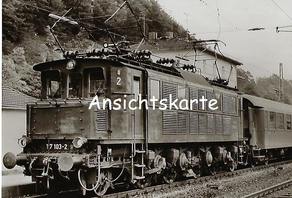 117 103 DB Schnellzug-Lokomotive in Eichstätt (1111)