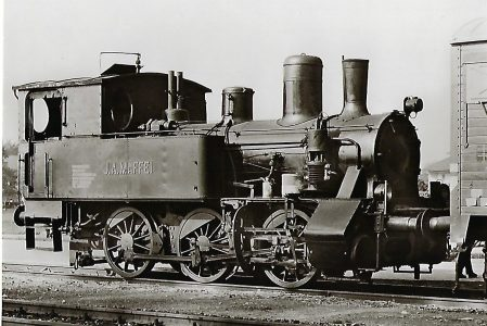 "Werkslokomotive ""J. A. Maffei"", Papierwerke Waldhof-Aschaffenburg AG, Werk Redenfelden. Eisenbahn Bestell-Nr. 1119"