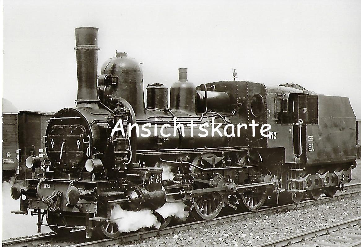 ÖBB Schnellzug-Lokomotive Nr. 372, Floridsdorf 1891 (1122)
