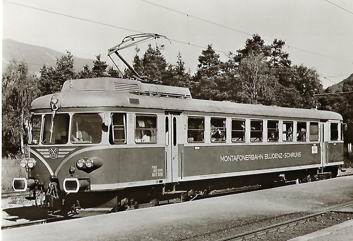 Montafonerbahn AG. Bludenz- Schruns ET 10.103. Eisenbahn Bestell-Nr. 1125