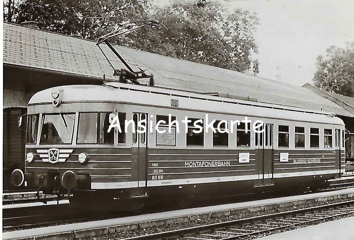 Montafonerbahn AG. Bludenz-Schruns ET 10.101 (1126)