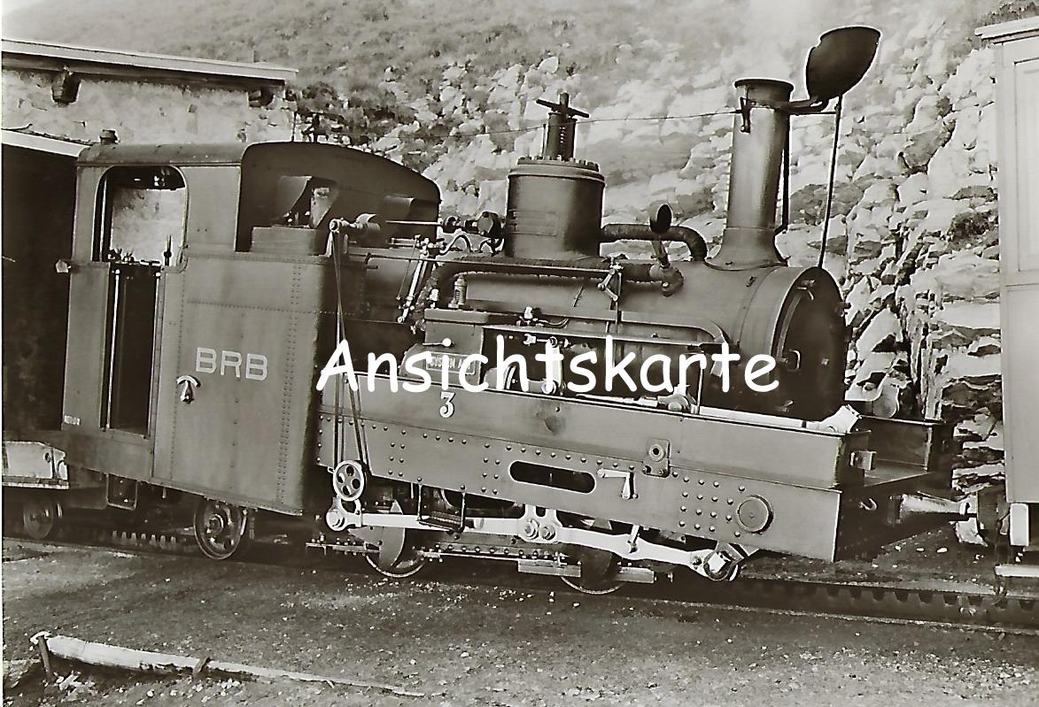Brienz-Rothorn-Bahn. Dampflokomotive Nr. 3 (1127)