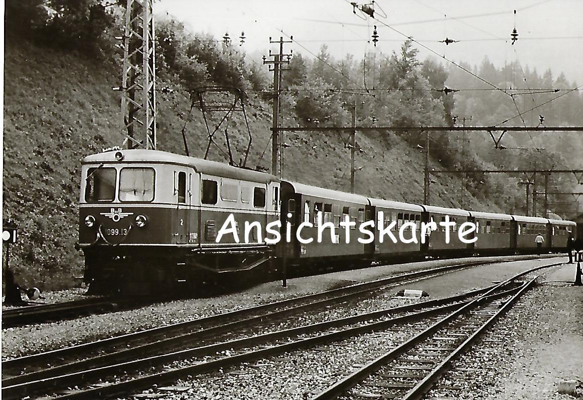 ÖBB Elektrische Lokomotive 1099.13 in Bf. Gösing (1161)