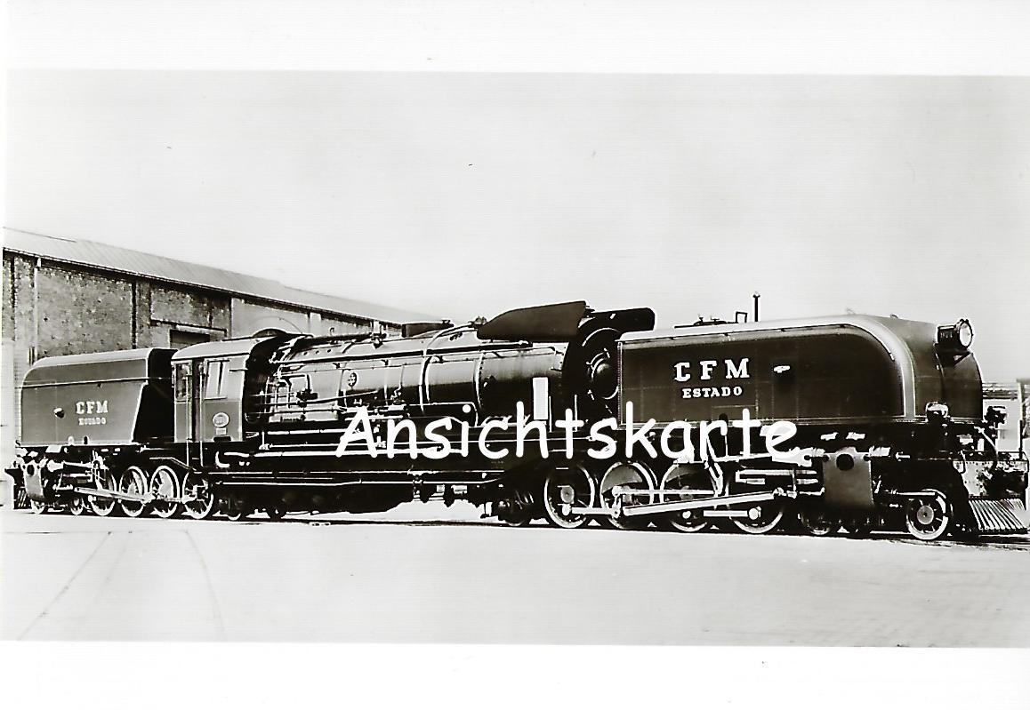 Eisenbahnen in ehem. Portugiesisch-Ostafrika. Gelenk-Lokomotive Nr. 971 (1163)
