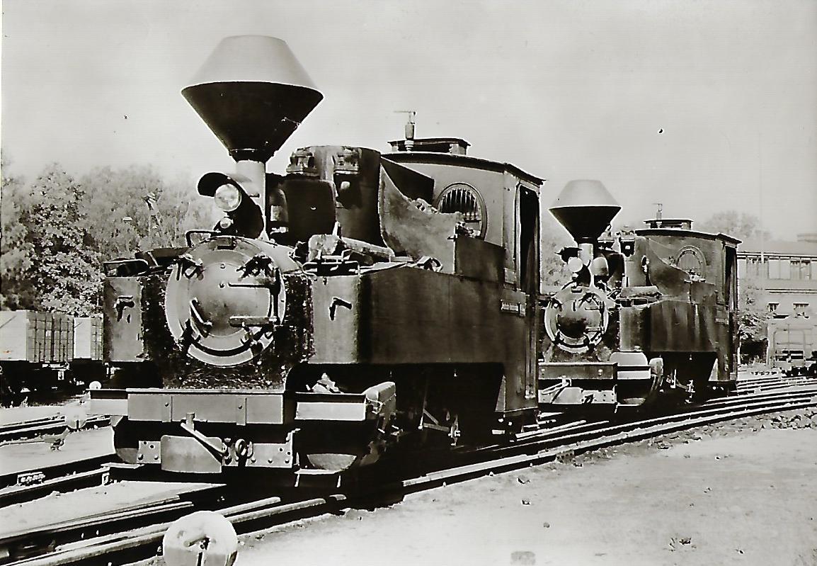 Waldeisenbahn Muskau. Betriebsbahnhof Krauschnitz. Eisenbahn Bestell-Nr. 1168