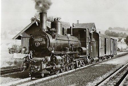 ÖBB Schmalspur-Stütztender-Lokomotive 399.02. Eisenbahn Bestell-Nr. 1171