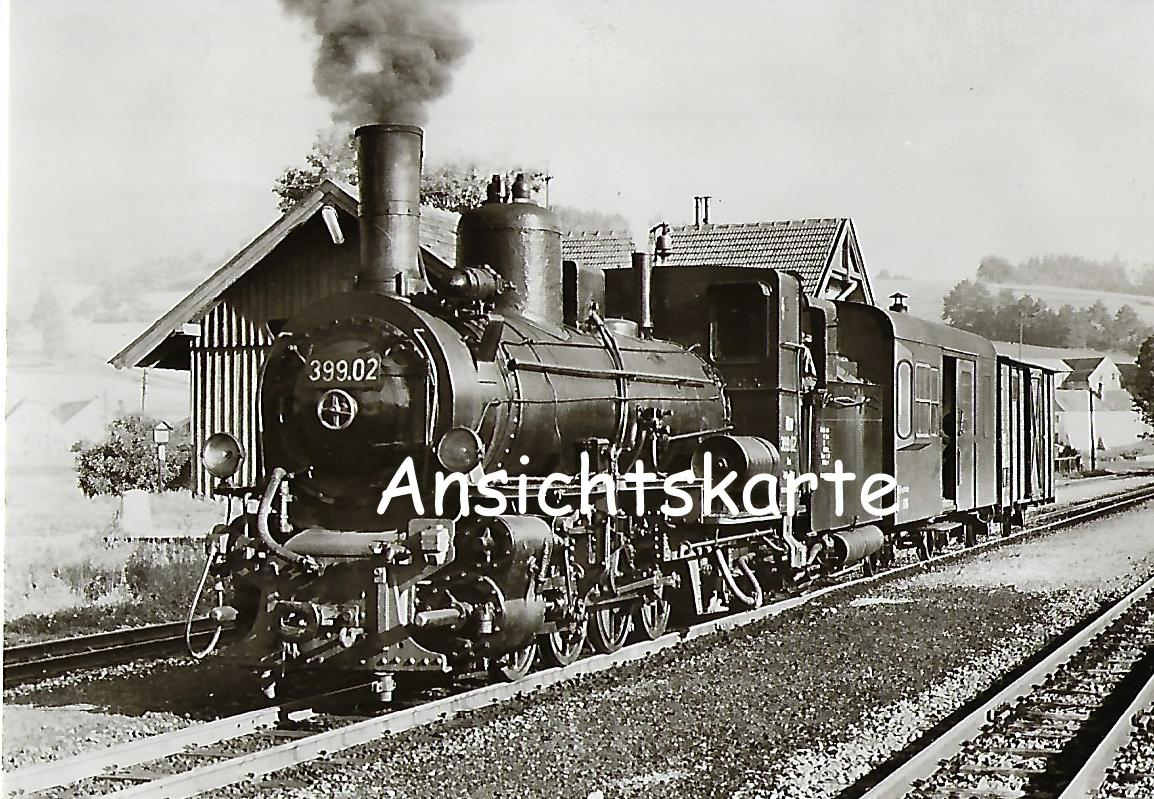 ÖBB Schmalspur-Stütztender-Lokomotive 399.02 (1171)