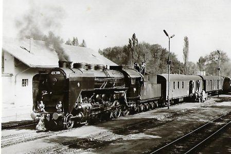 Ungarische Staatsbahnen. Bf. Siófok. Eisenbahn Bestell-Nr. 1172