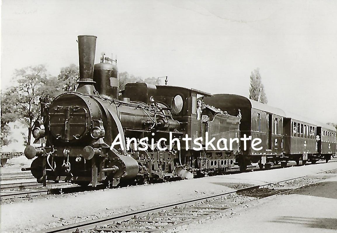 Raab-Ödenburg-Ebenfurther Eisenbahn. DGEG-Sonderzug mit Lokomotive Nr. 17 (1173)