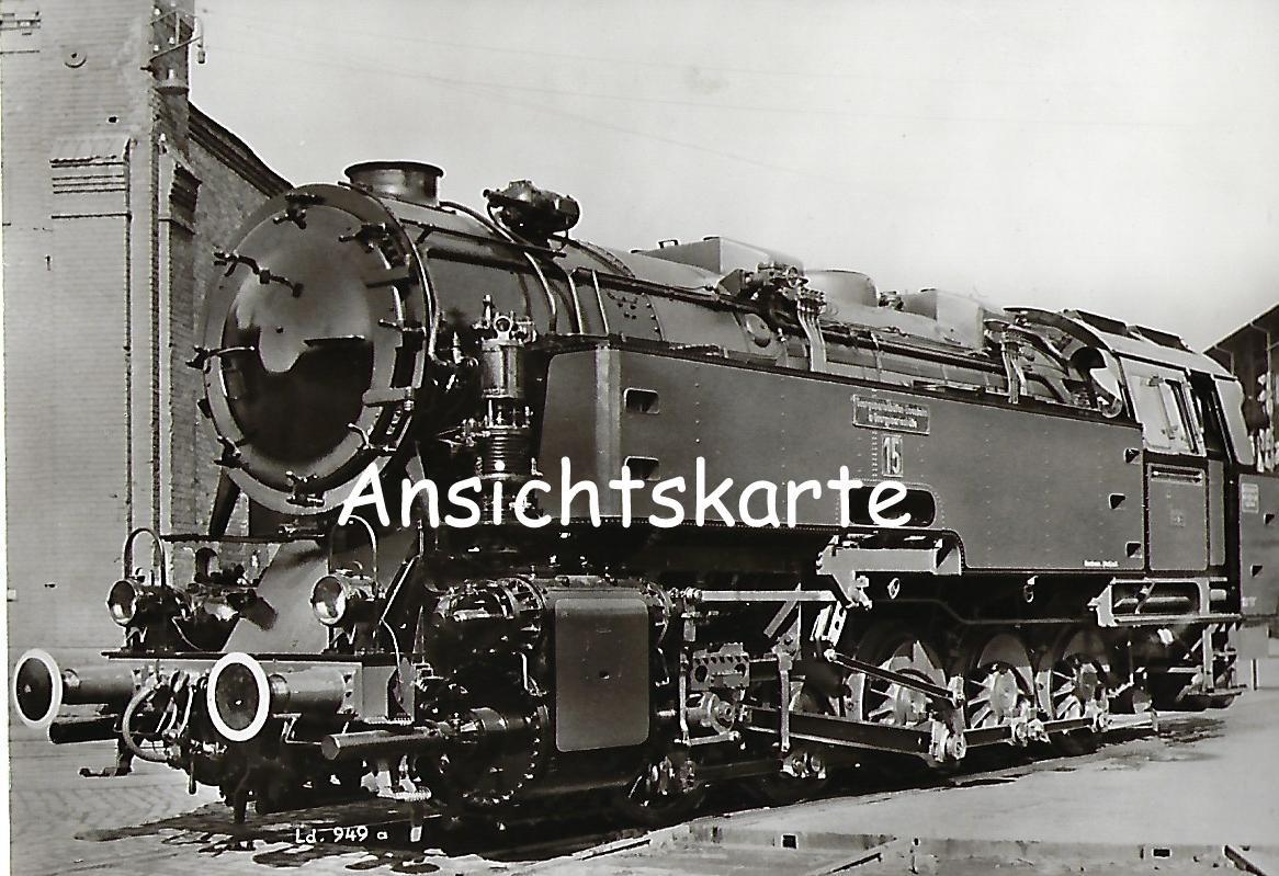 Georgsmarienhütten-Eisenbahn. Lokomotive Nr. 15 (1192)