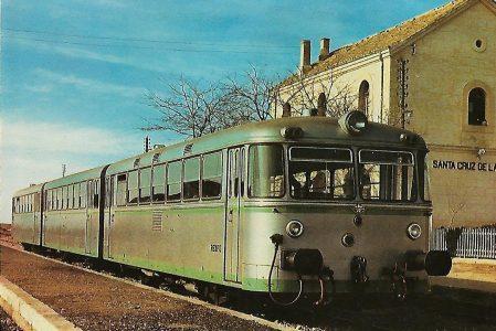 """Spanische Staatsbahn (RENFE) Schienenbus der """"Bauart Uerdingen"""". Eisenbahn Bestell-Nr. 1203"""