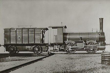 """Großherzogl. Oldenburgische Staatseisenbahn. Gemischtzug-Lokomotive Betr.-Nr. 8 """"Muensterland"""". Eisenbahn Bestell-Nr. 1209"""