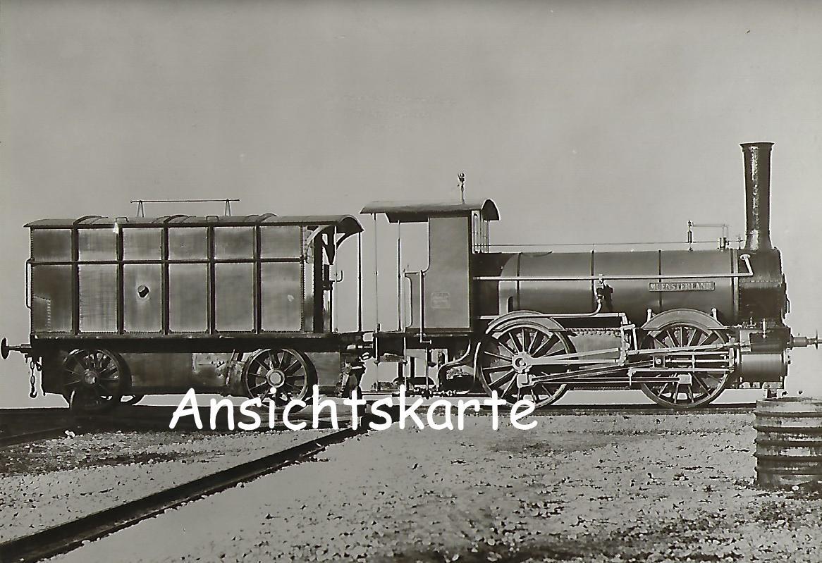 """Großherzogl. Oldenburgische Staatseisenbahn. Gemischtzug-Lokomotive Betr.-Nr. 8 """"Muensterland"""" (1209)"""
