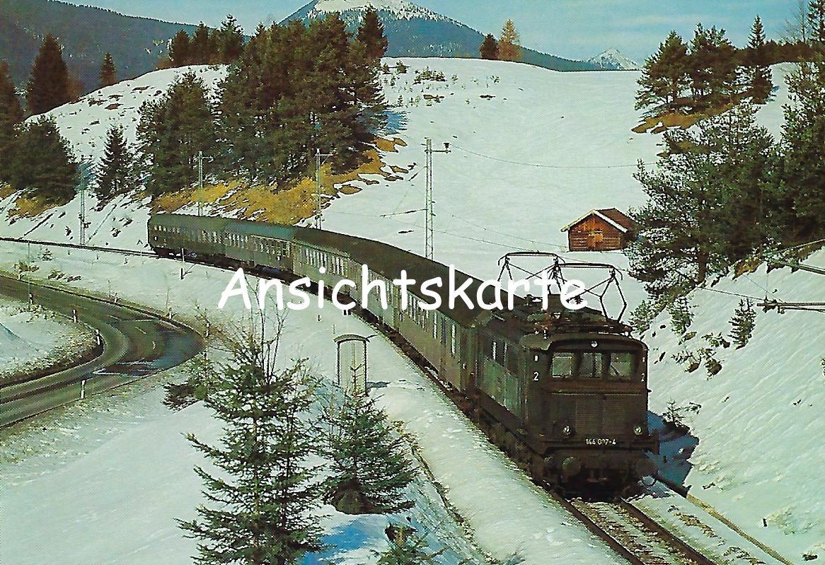 Garmisch-Partenkirchen-Mittenwald Elektr. Lokomotive 144 097 (1223)