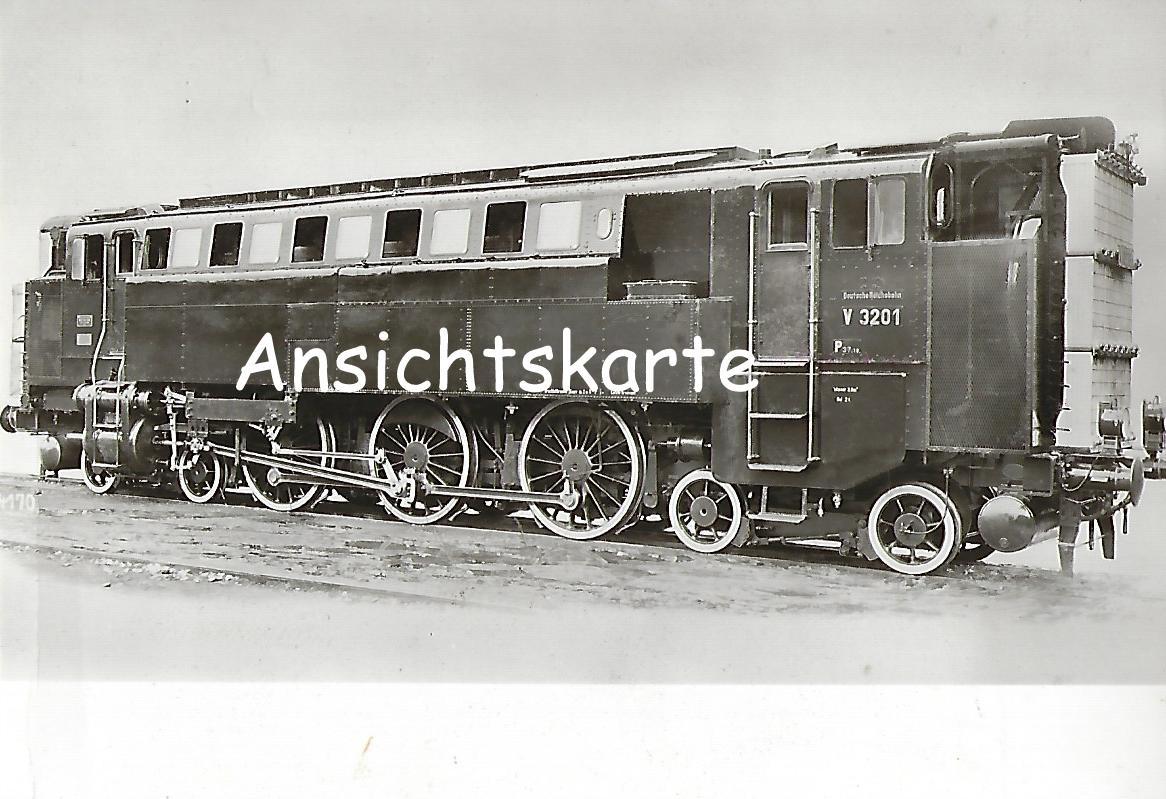 DR Diesel-Druckluft-Lokomotive V 3201 (1927). (1226)