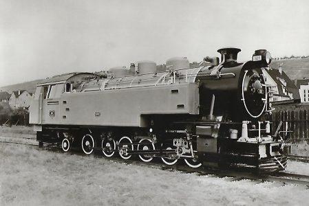 Argentinische Staatsbahn. Reibungs- und Zahnrad-Tenderlokomotive Serie E. 24. Eisenbahn Bestell-Nr. 1230