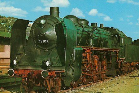 DR Schnellzug-Lokomotive 19 017. Eisenbahn Bestell-Nr. 1234