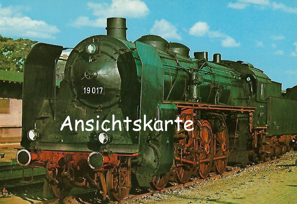 DR Schnellzug-Lokomotive 19 017. (1234)