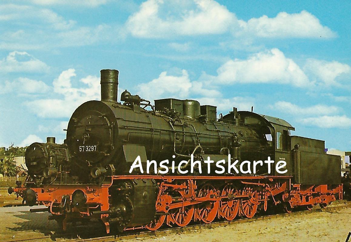 DR Güterzug-Lokomotive 57 3297. (1235)