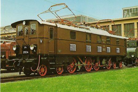 Personenzug-Lokomotive EP 5 21534. Eisenbahn Bestell-Nr. 1237