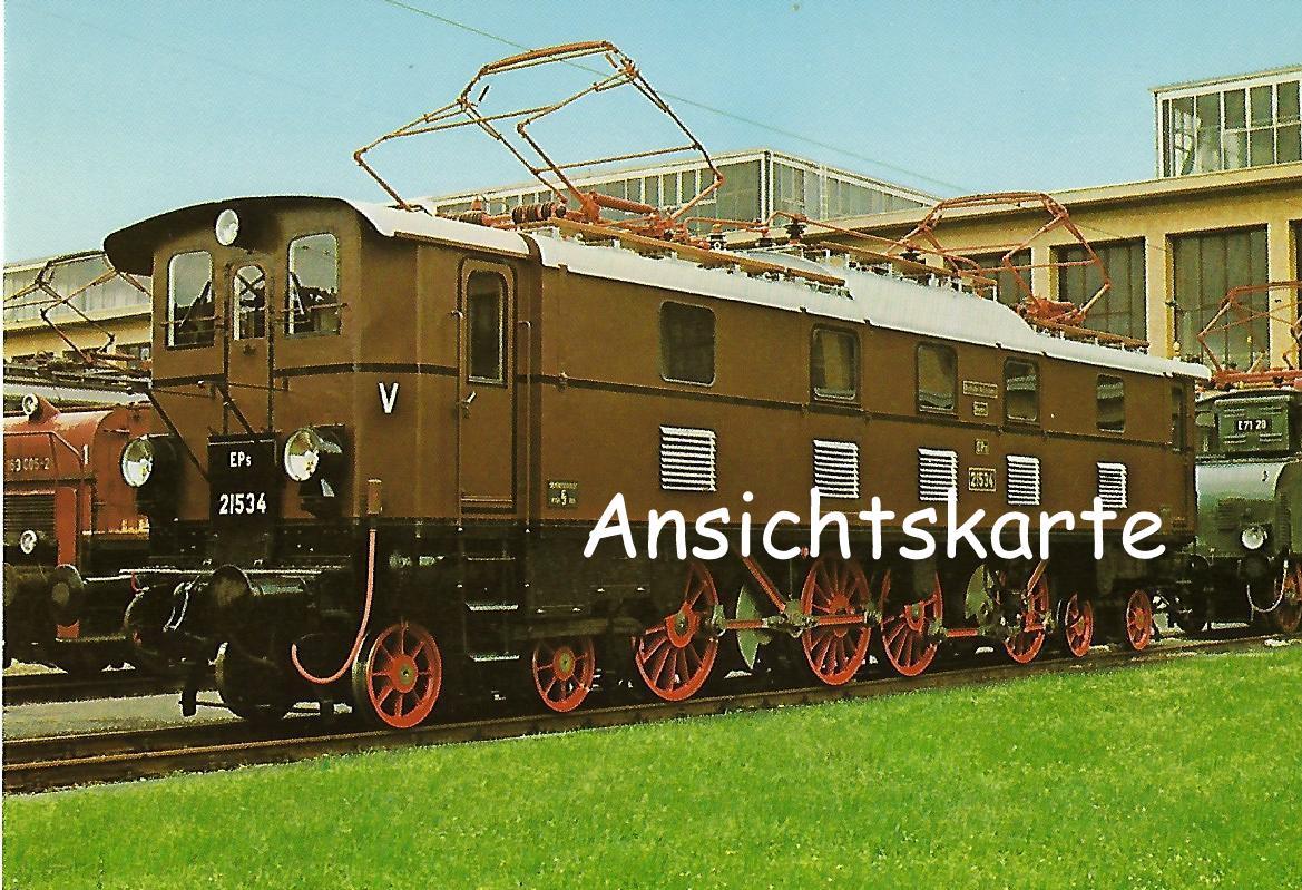 Personenzug-Lokomotive EP 5 21534. (1237)