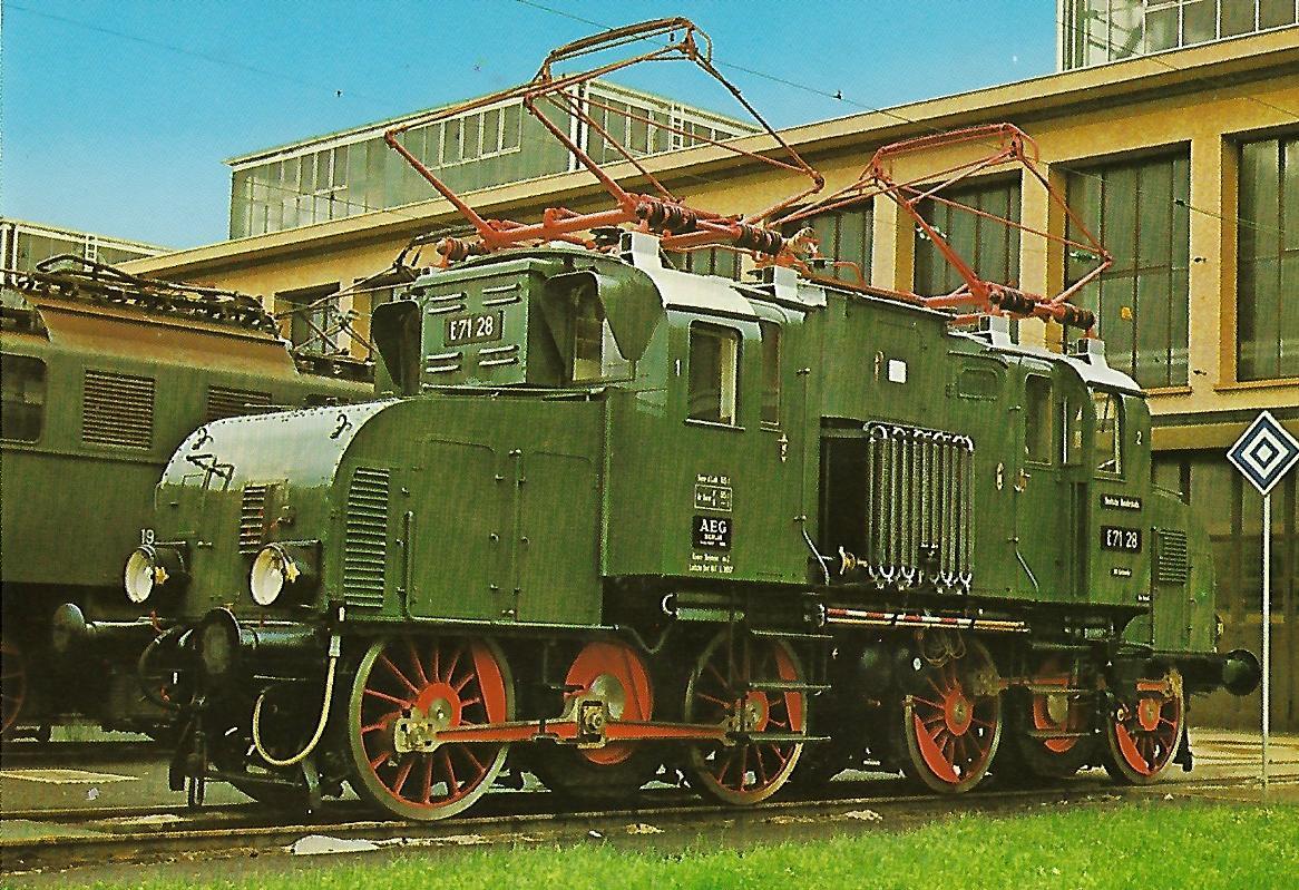 Güterzug-Lokomotive E71 28, EG 528. Eisenbahn Bestell-Nr. 1238