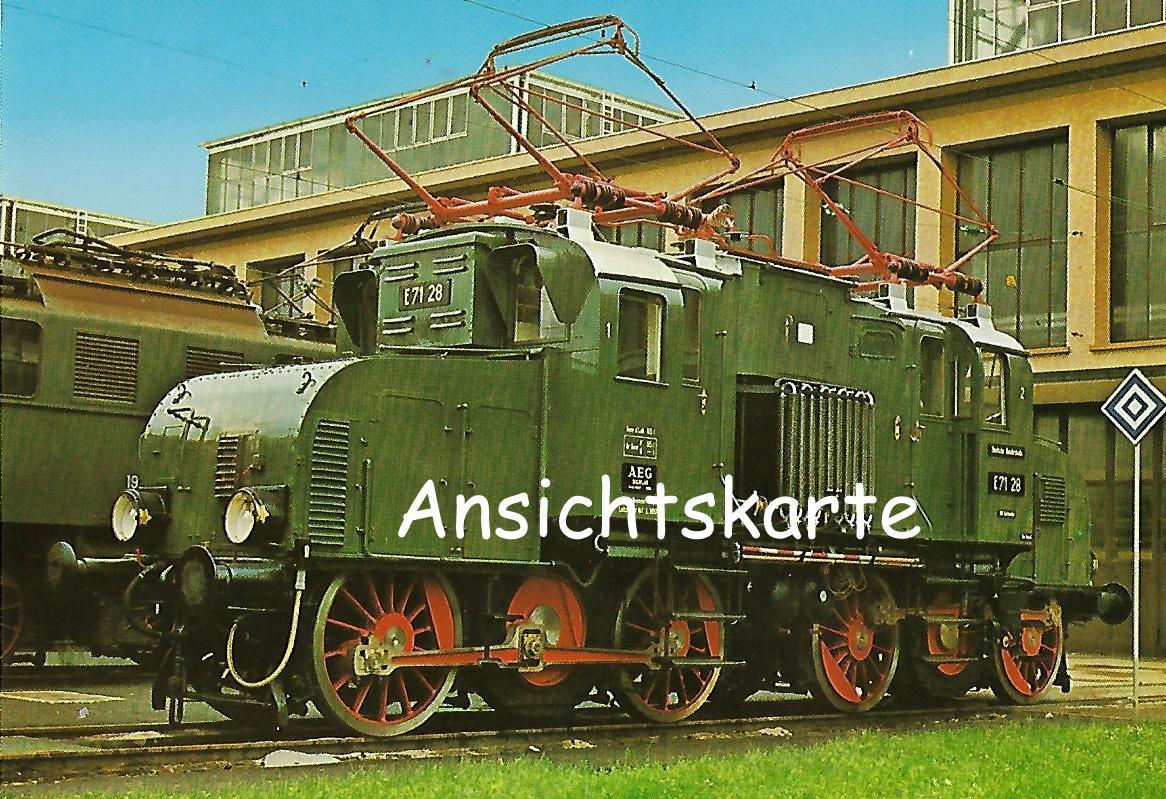 Güterzug-Lokomotive E71 28, EG 528 (1238)