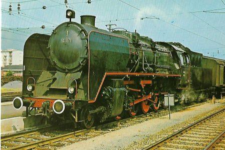 Graz-Köflacher-Eisenbahn Güterzug-Lokomotive 50 1171. Graz Hbf. Eisenbahn Bestell-Nr. 1243