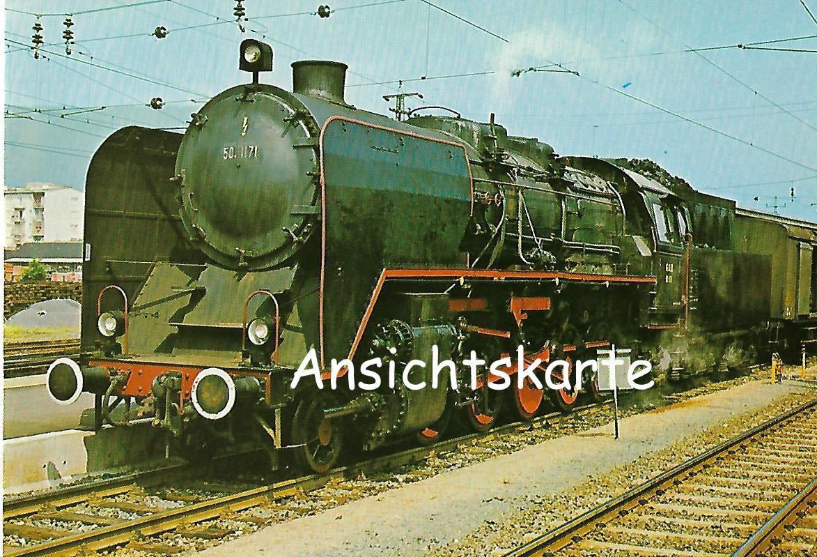 Graz-Köflacher-Eisenbahn Güterzug-Lokomotive 50 1171. (1243)
