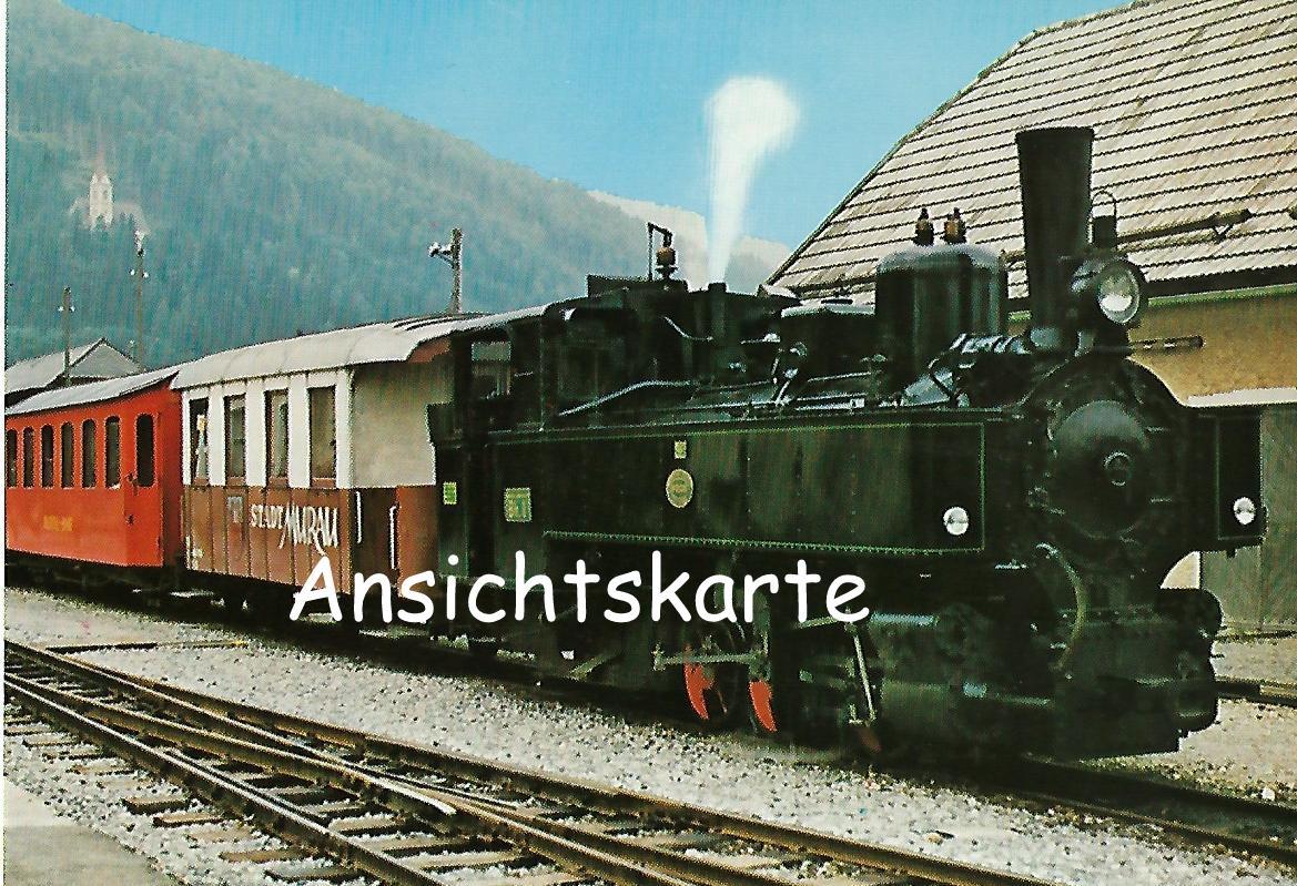NÖLB Uh. Erste Heißdampf-Lokomotive in Österreich. (1244)