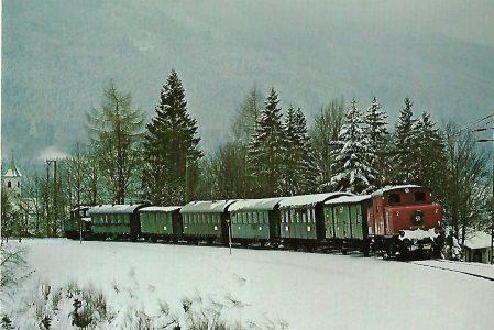 Lokomotive 169 005 Murnau – Oberammergau. Eisenbahn Bestell-Nr. 1246