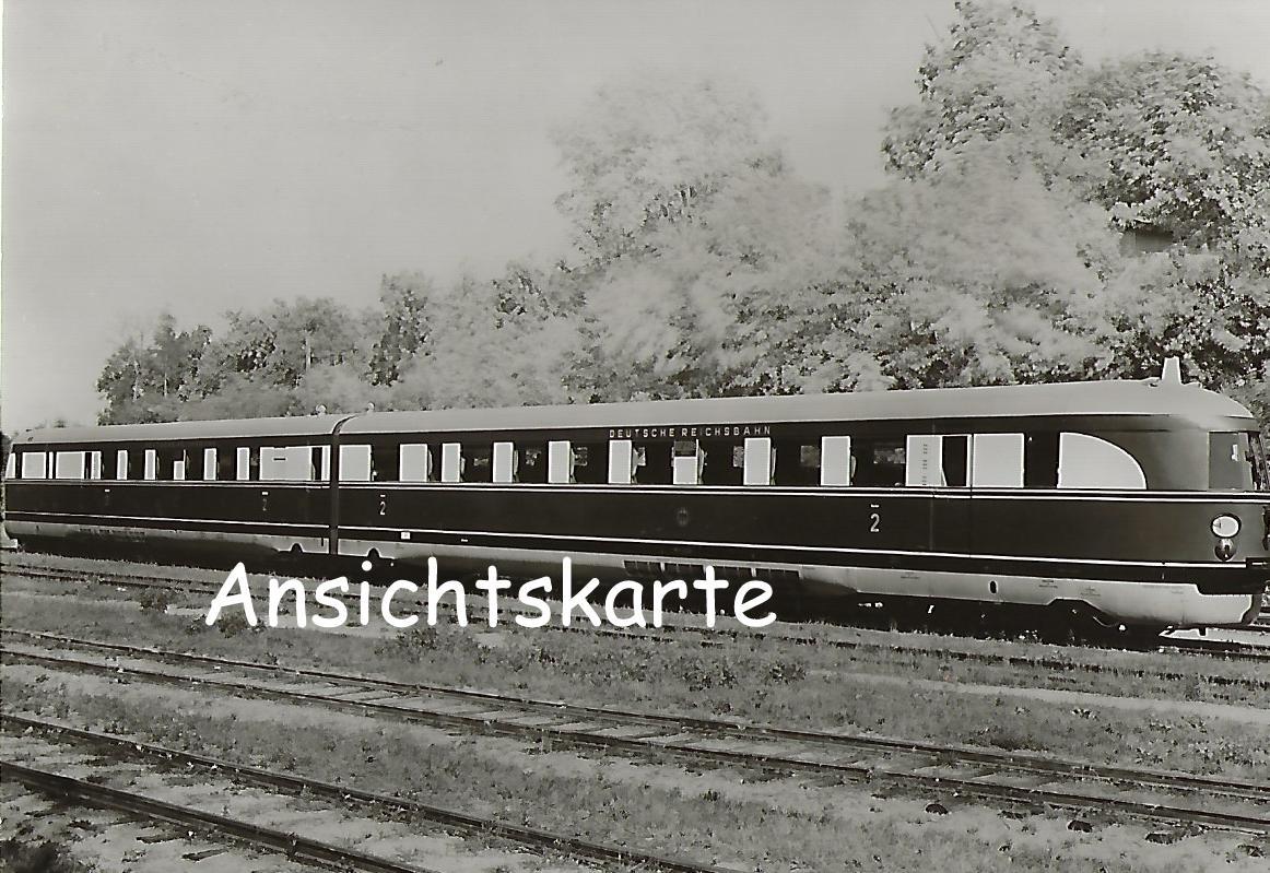 """DR Dieselektrischer Schnelltriebwagen SVT 137 229 a/b, Typ """"Hamburg"""". (1247)"""