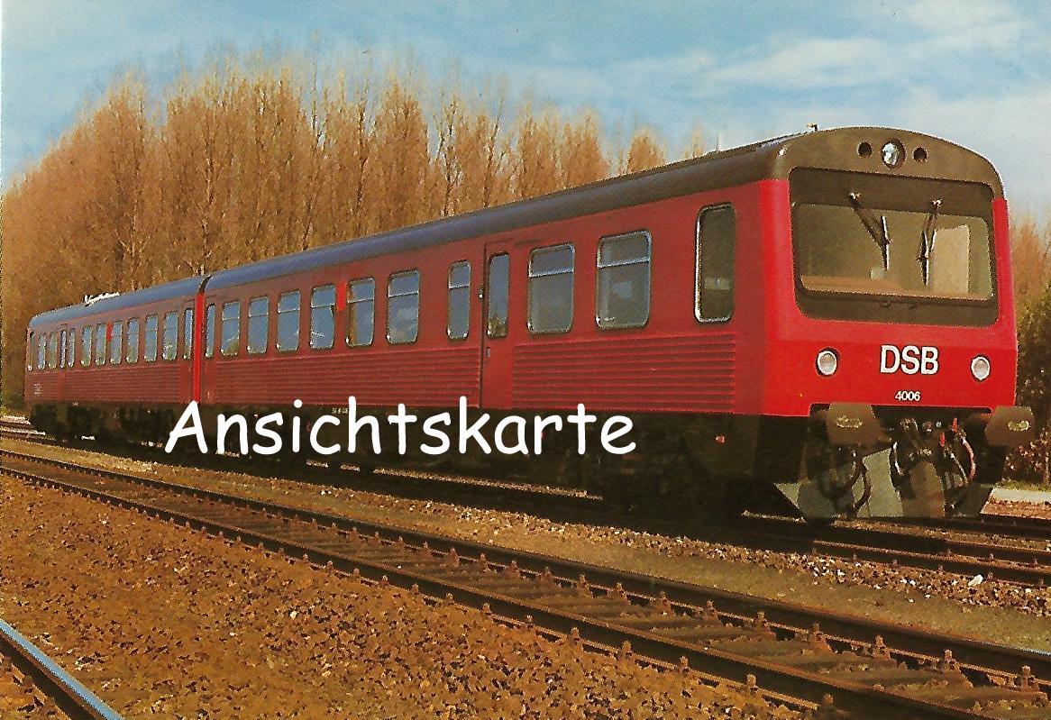 Dänische Staatsbahnen DSB MR 4006. (1251)