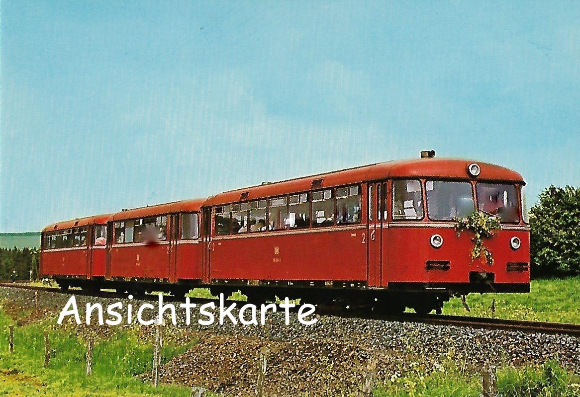 DB Schienenbus Triebwagenzug 795 504-0 (1254)