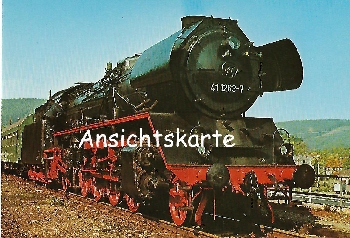 DR Güterzug-Lokomotive 41 1263-7 (1256)