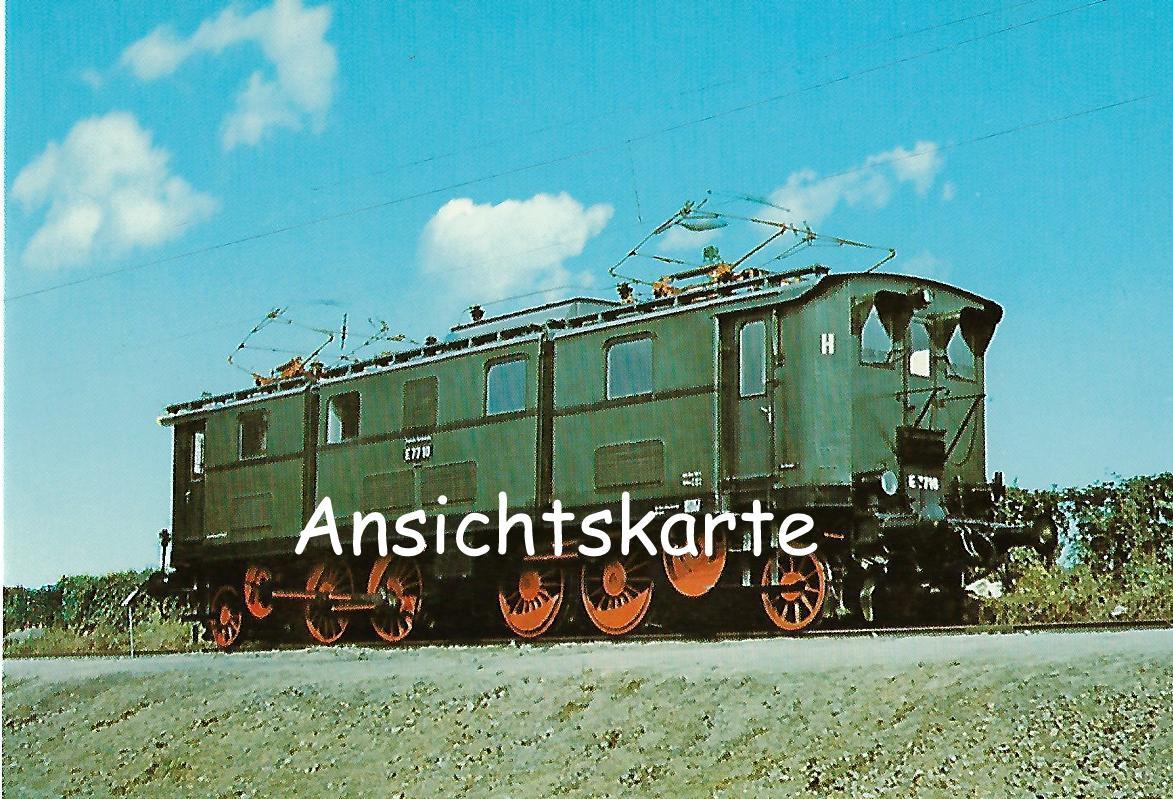 DR Elektr. Güterzug-Lokomotive E 77 10. Eisenbahn Bestell-Nr. 1261