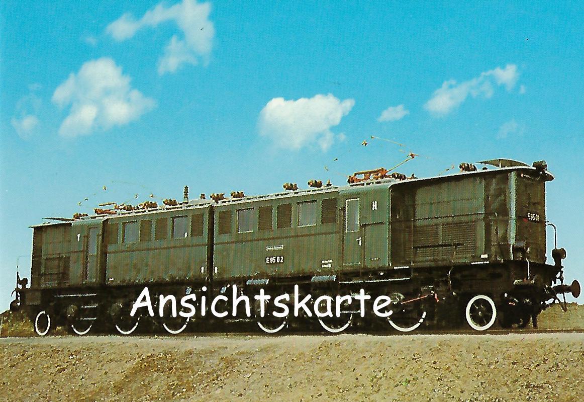 DR Güterzug-Lokomotive E 95 02 (1262)