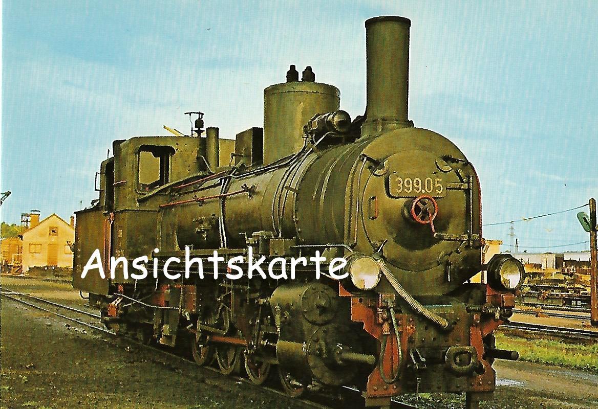 ÖBB Schmalspur-Stütztender-Lokomotive 399.05 (1265)