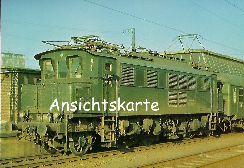DB Elektr. Schnellzuglokomotive 104 018-7. Eisenbahn Bestell-Nr. 1271
