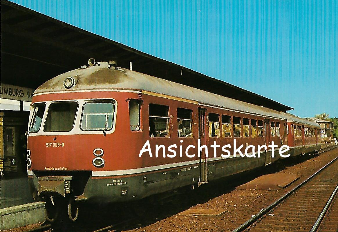 DB Akkumulator-Triebwagen 517 003-0. (1275)