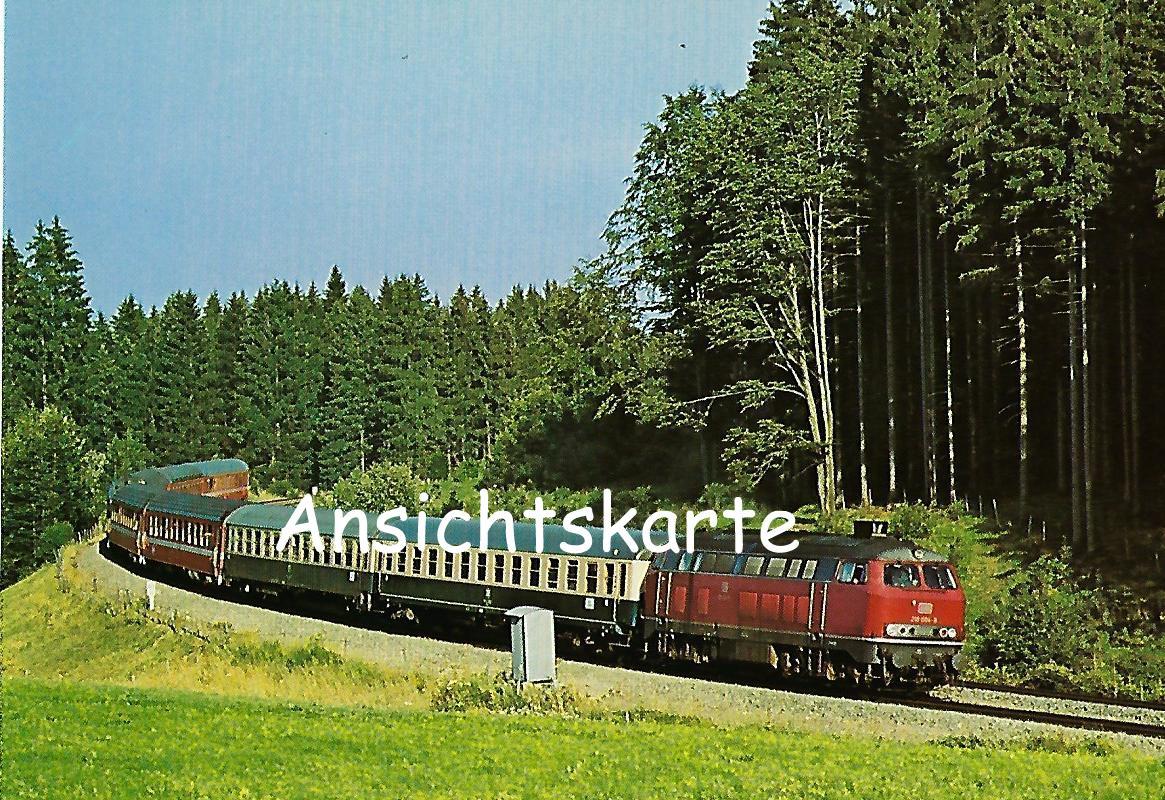 DB, Gasturbinen-Lokomotive 210 004-8. Eisenbahn Bestell-Nr. 1276