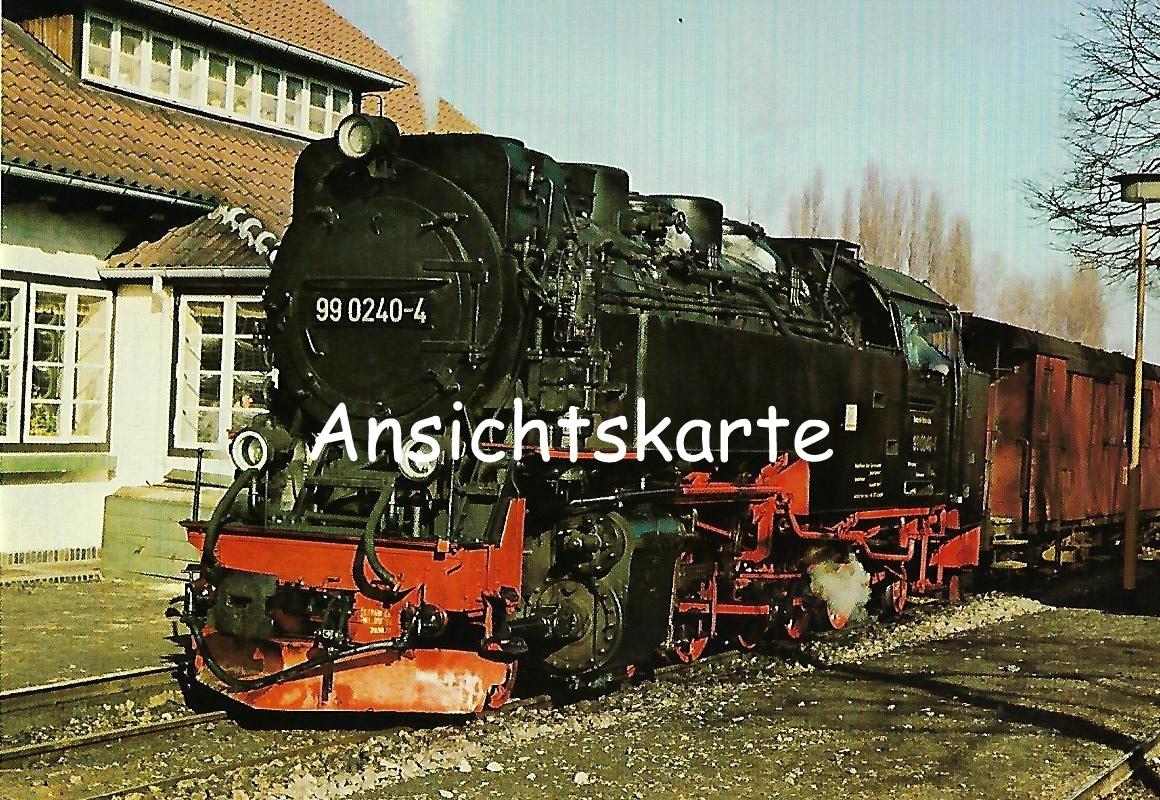 DR Schmalspurlokomotive 99 0240-4. (1281)