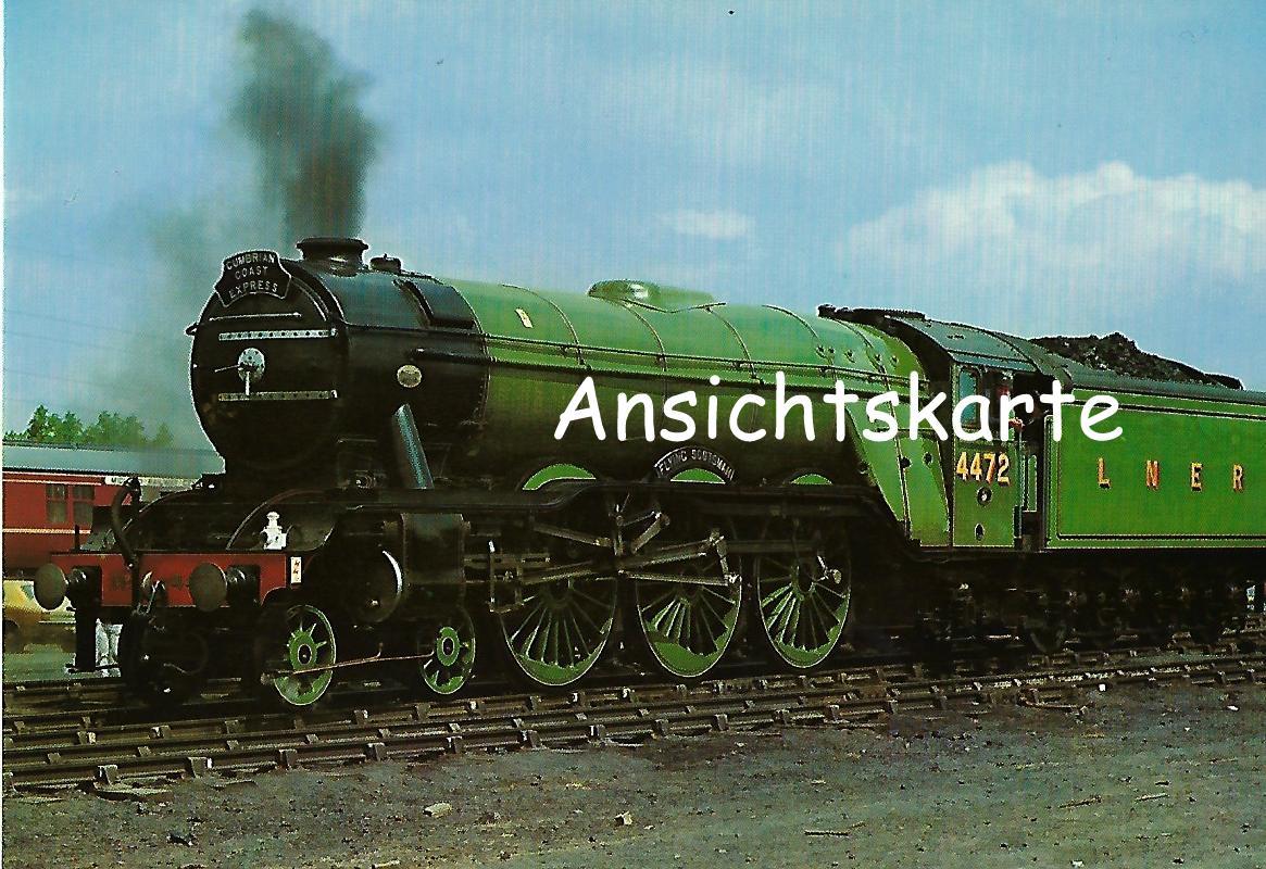 "British Railways Schnellzug-Lokomotive Nr. 4472 ""Flying Scotsman"". (1283)"